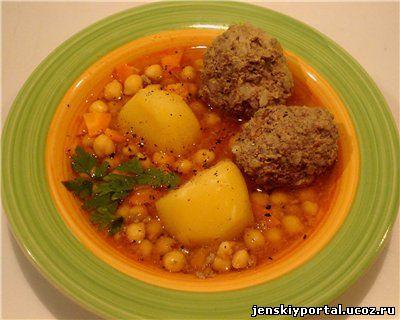 бозбаш азербайджанской кухни с фото